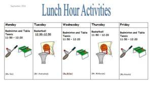 lunch-schedule